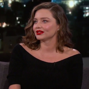 Miranda Kerr, Jimmy Kimmel Live