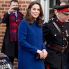Kate Middleton Dresses Her Baby Bump in Blue for Visit to New Addiction Treatment Center