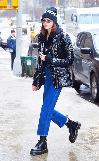 ESC: NYFW Street Style, Kaia Gerber
