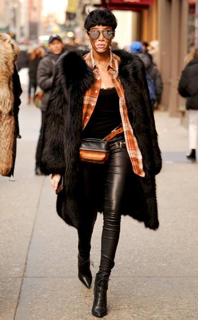 ESC: NYFW Street Style, Winnie Harlow