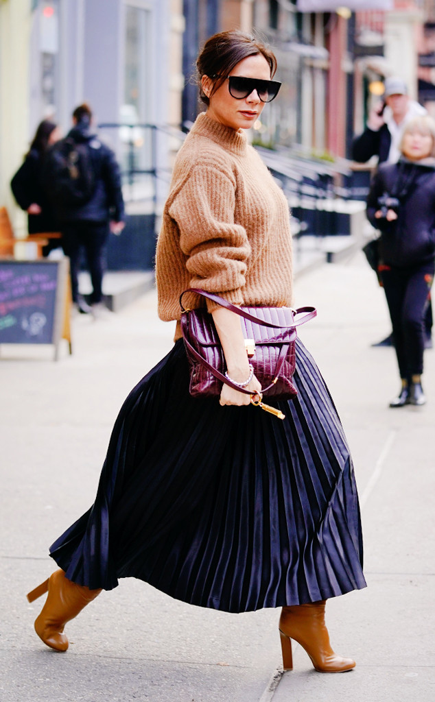 ESC: NYFW Street Style, Victoria Beckham