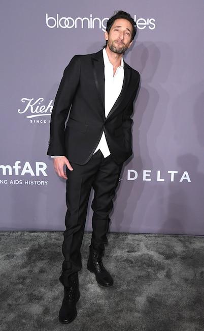 Adrien Brody, amfAR Gala