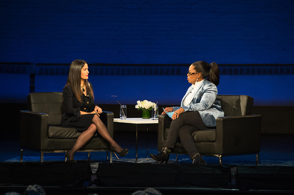 Salma Hayek, Oprah Winfrey, Super Soul Conversations