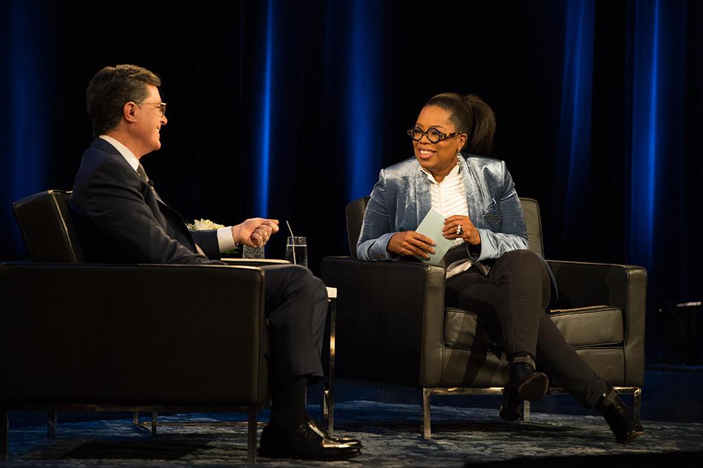 Stephen Colbert, Oprah Winfrey, Super Soul Conversations