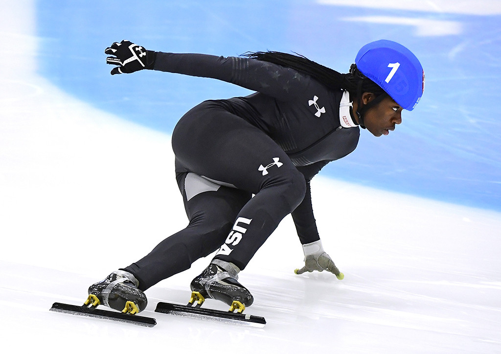 Maame Biney, Team USA, Winter Olympics