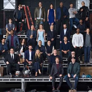 Marvel Cast Photo