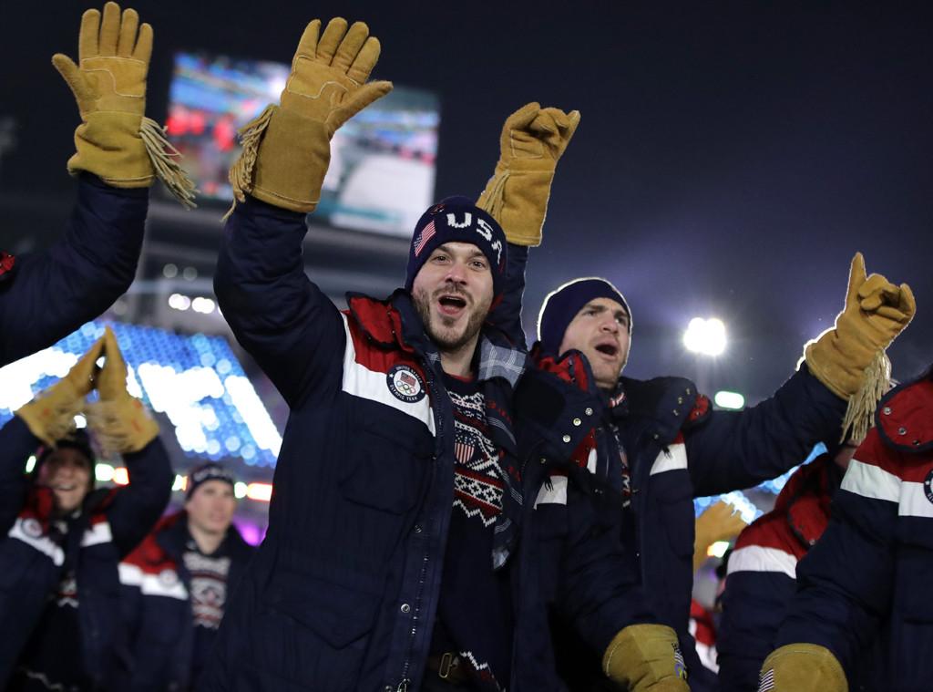 United States, 2018 Winter Olympics, Opening Ceremony