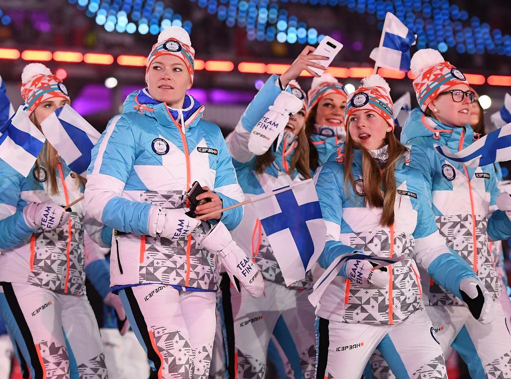 Finland, 2018 Winter Olympics, Opening Ceremony