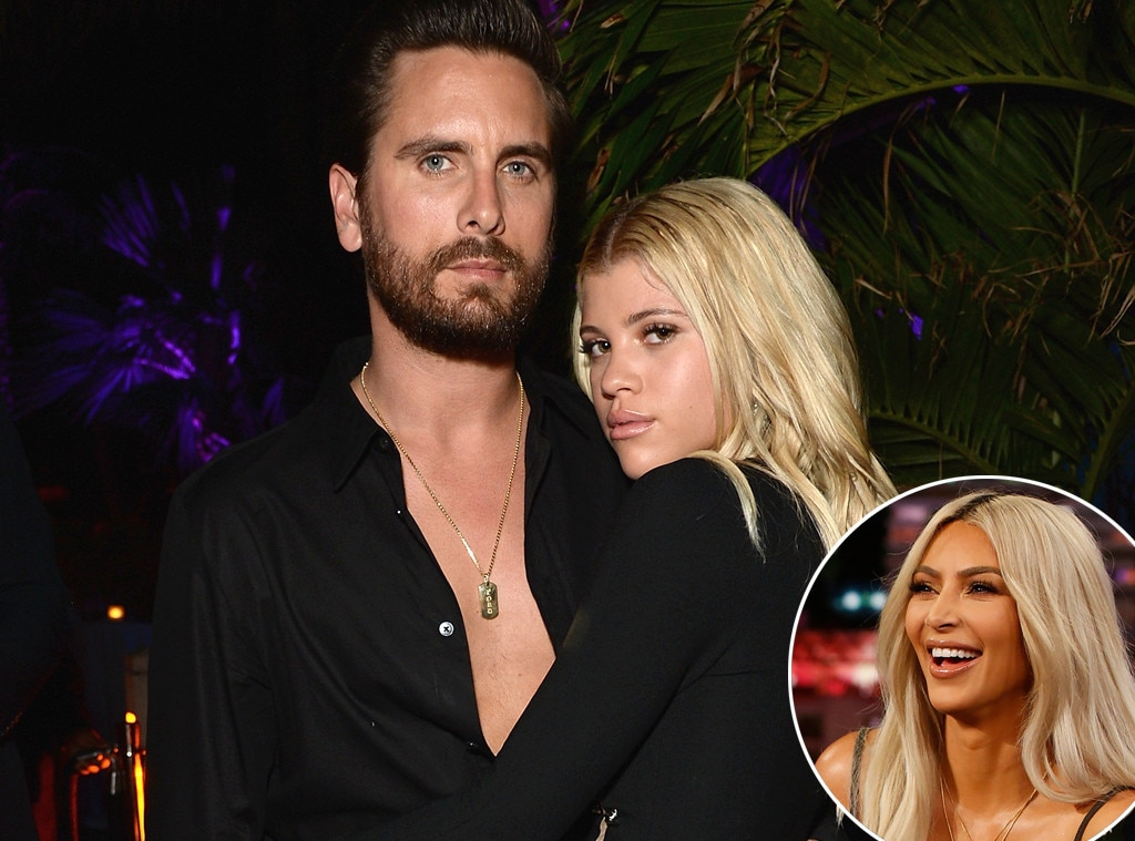 Kim Kardashian Defends Scott Disick's Relationship WIth Sofia Richie