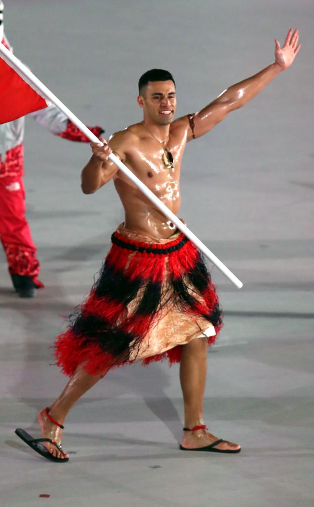 Tonga, Pita Taufatofua, Olympics 2018