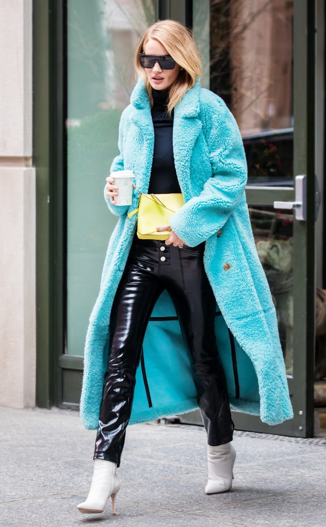 Rosie Huntington Whiteley From Best Celeb Street Style
