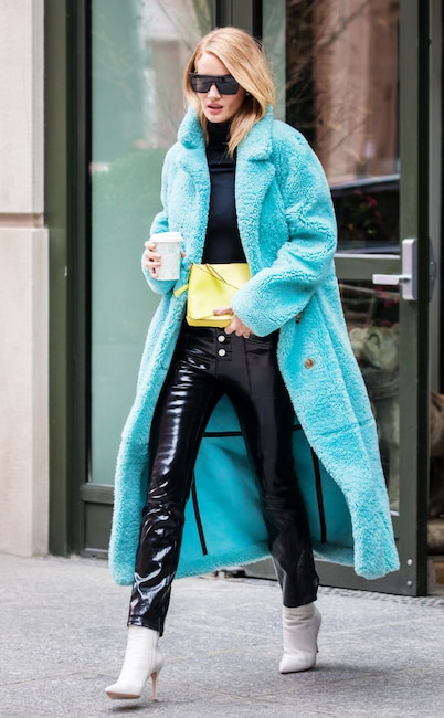 ESC: NYFW Street Style, Rosie Huntington-Whiteley