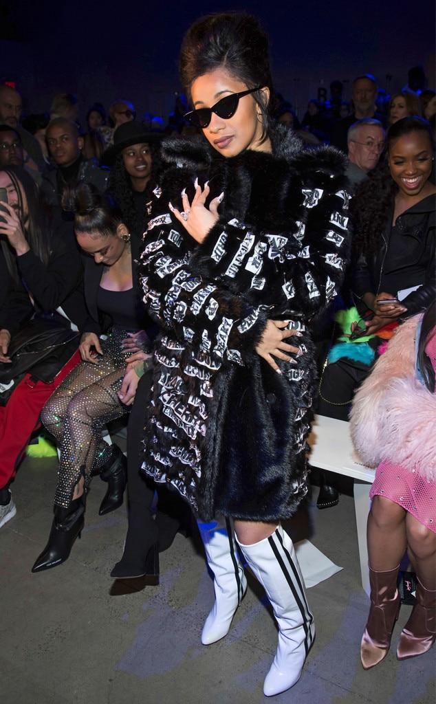 Cardi B, New York Fashion Week