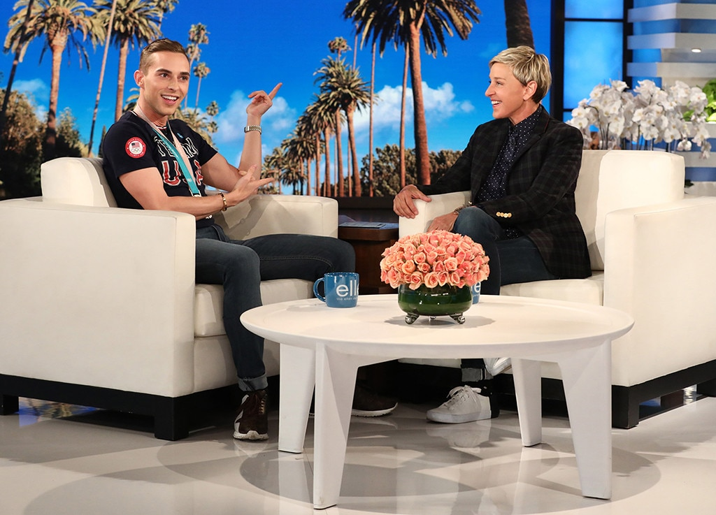 Adam Rippon Crushes On Jake Gyllenhaal, Harry Styles, Shawn Mendes