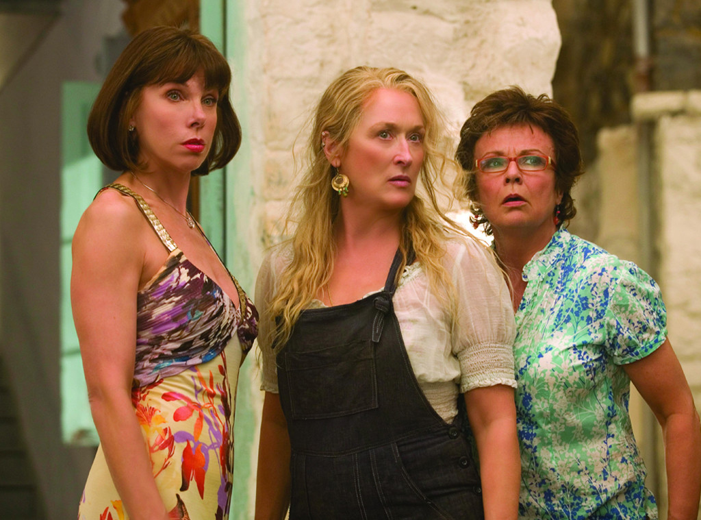 Christine Baransk, Meryl Streep, Julie Walters, Mamma Mia!