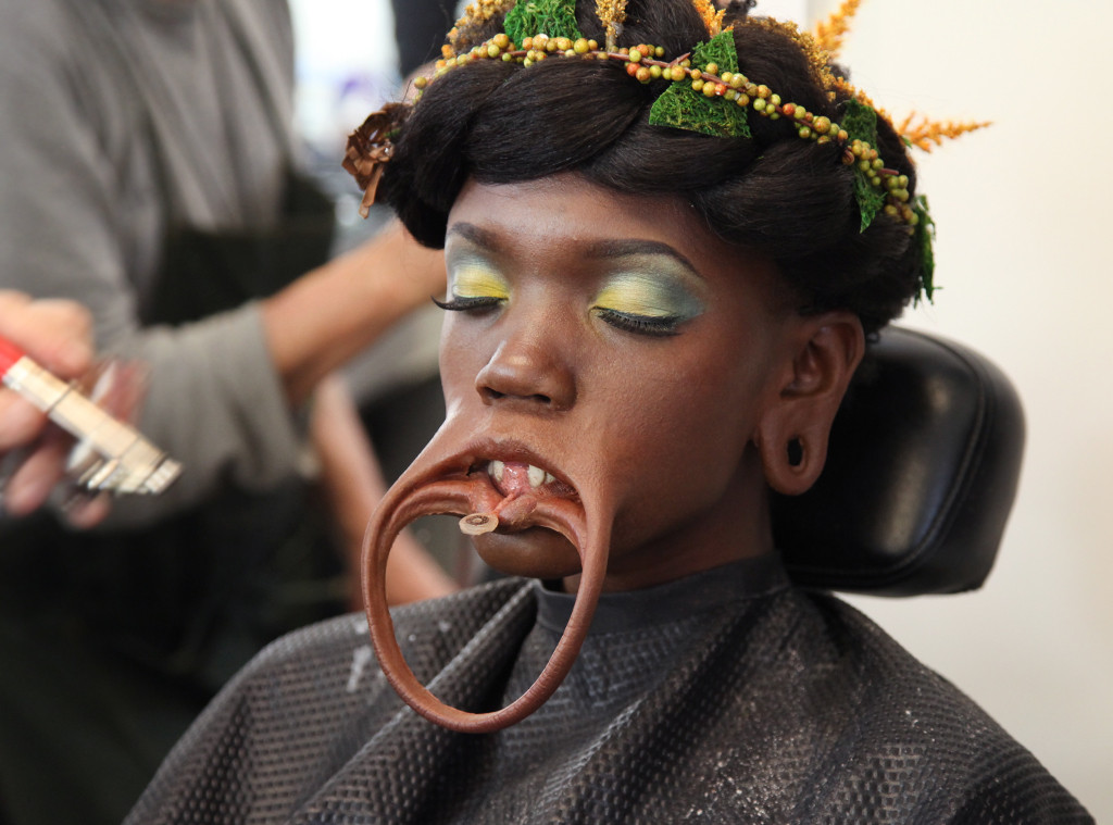 ESC: Black Panther, BTS Makeup
