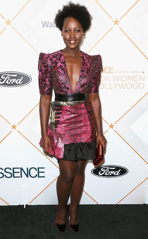 Lupita Nyong'o, 2018 Essence Black Women In Hollywood Oscars Luncheon