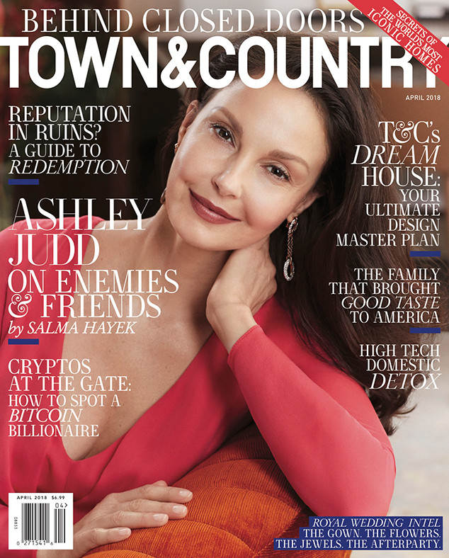 Ashley Judd, Town & Country Magazine, April 2018