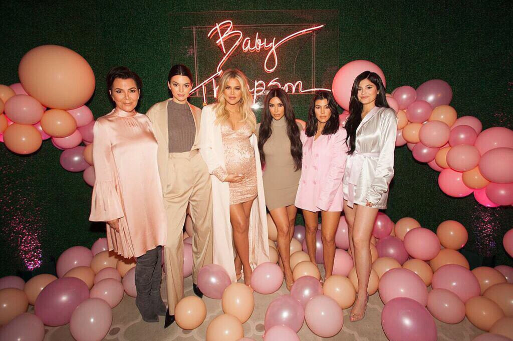 Khloe Kardashian, Family, Baby Shower, Pregnant