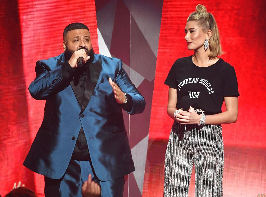 DJ Khaled, Hailey Baldwin, 2018 iHeartRadio Music Awards, Show