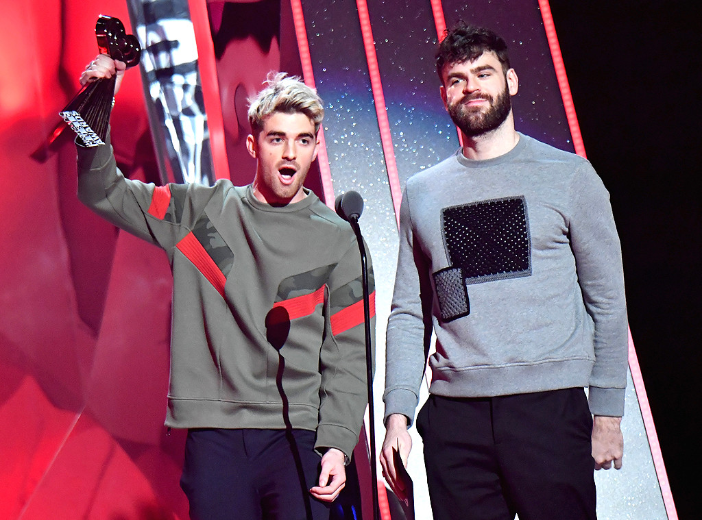 Andrew Taggart, Alex Pall, The Chainsmokers, 2018 iHeartRadio Music Awards, Winner