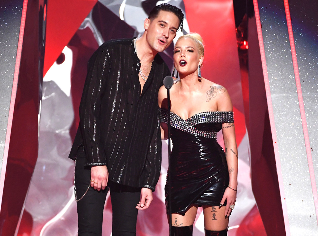 G-Eazy, Halsey, 2018 iHeartRadio Music Awards, Show