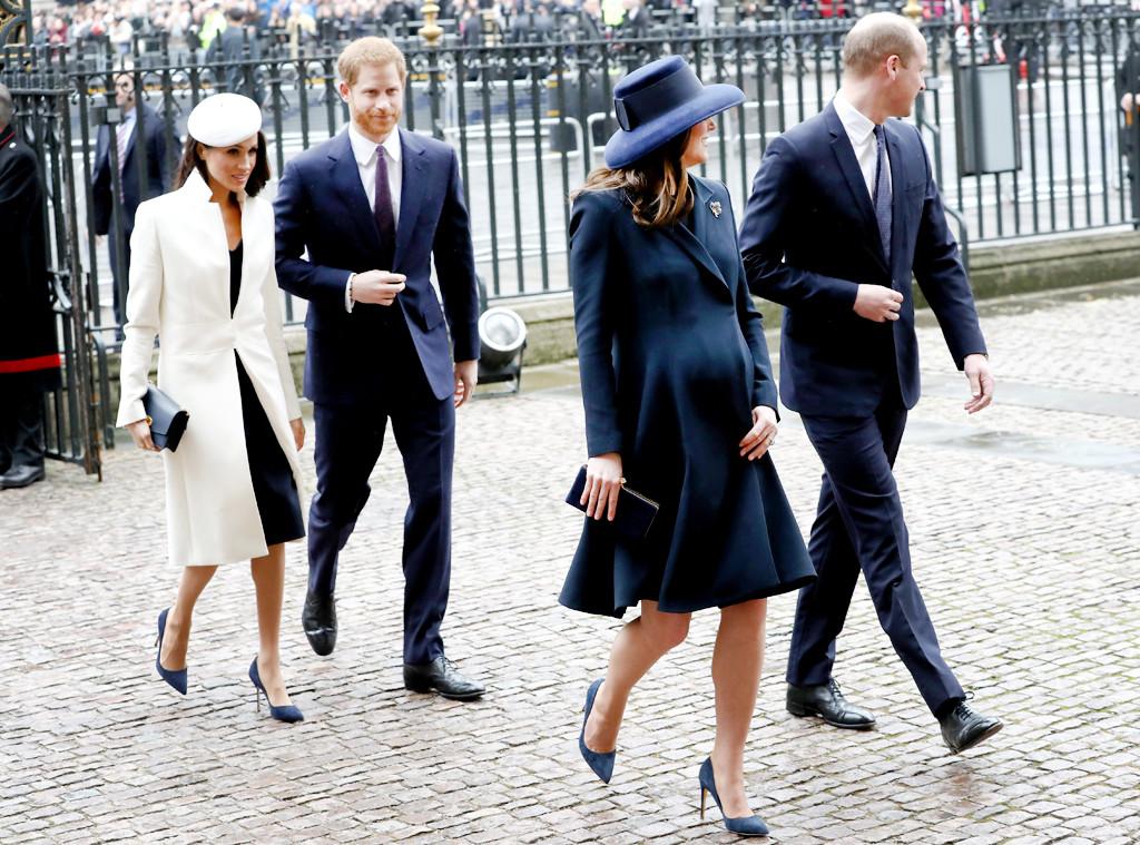ESC: Meghan Markle, Prince Harry, Kate Middleton, Prince William