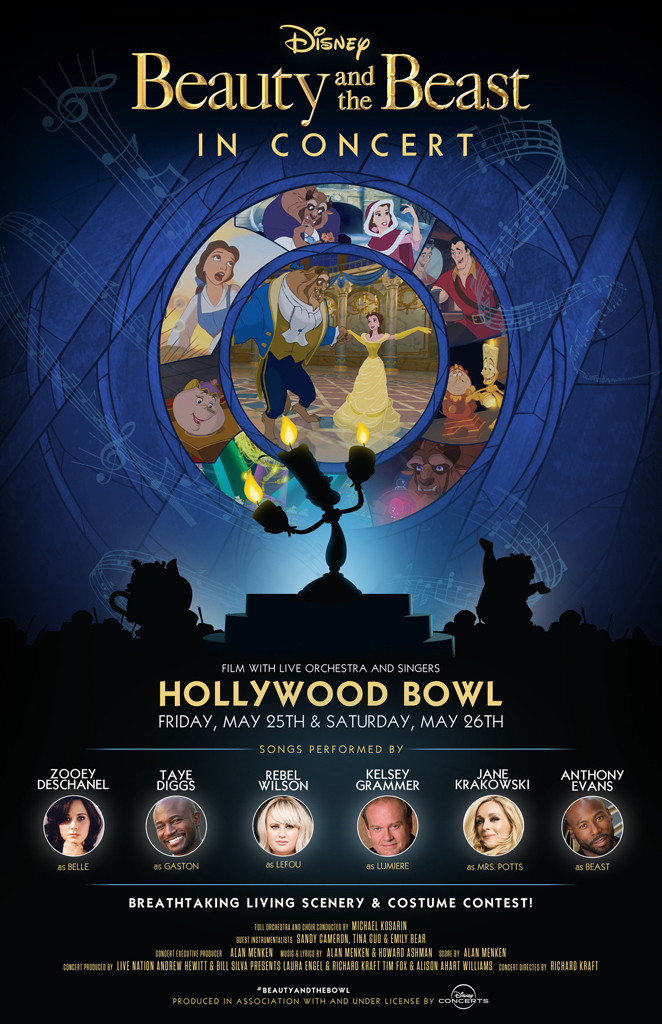 Beauty and the Beast, Hollywood Bowl