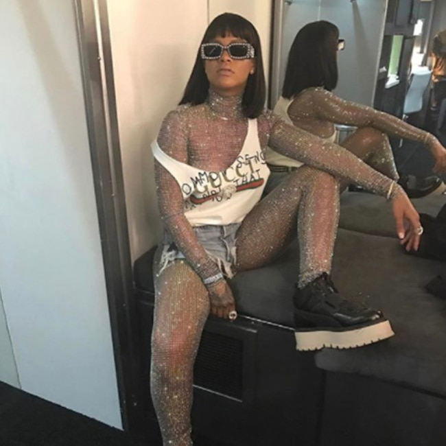 ESC: Rihanna, Lingerie