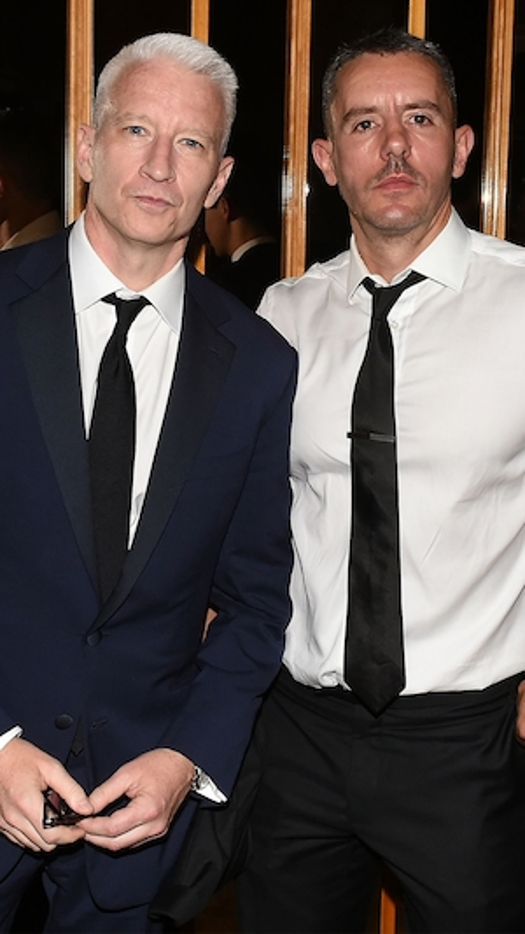 Anderson Cooper, Benjamin Maisani