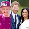 Queen Elizabeth, Meghan Markle, Prince Harry