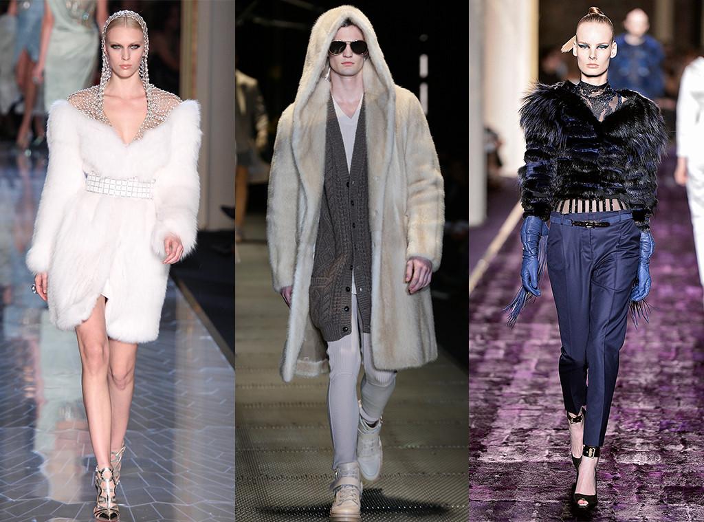 Versace, Runway, Fur