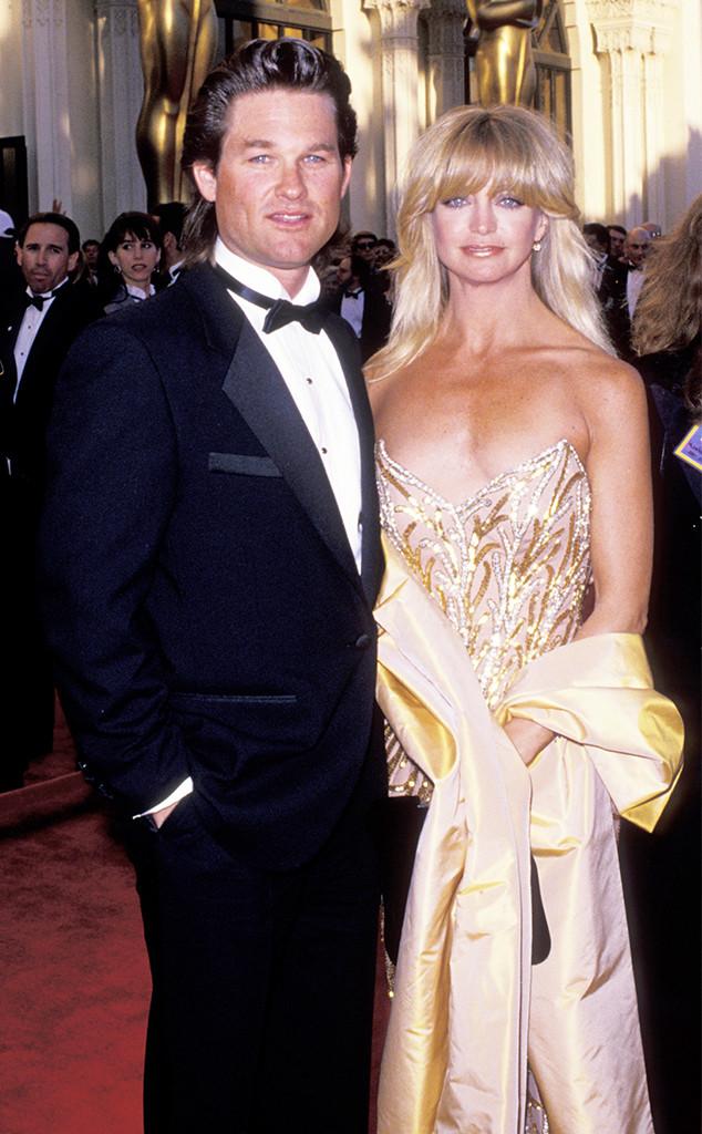Goldie Hawn, Kurt Russell, 1989
