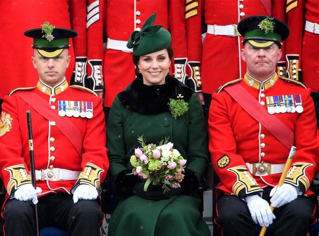 Kate Middleton, St. Patrick's Day Parade
