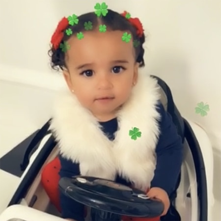 Dream Kardashian Celebrates St Patrick's Day 2018 in Style
