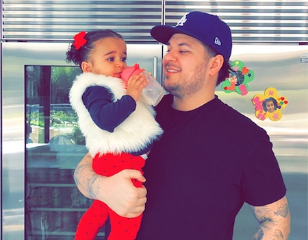 Rob Kardashian and Dream Celebrate His Birthday and St Paddy's Day