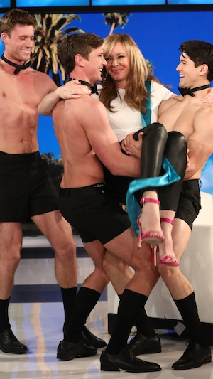 Allison Janney, The Ellen DeGeneres Show