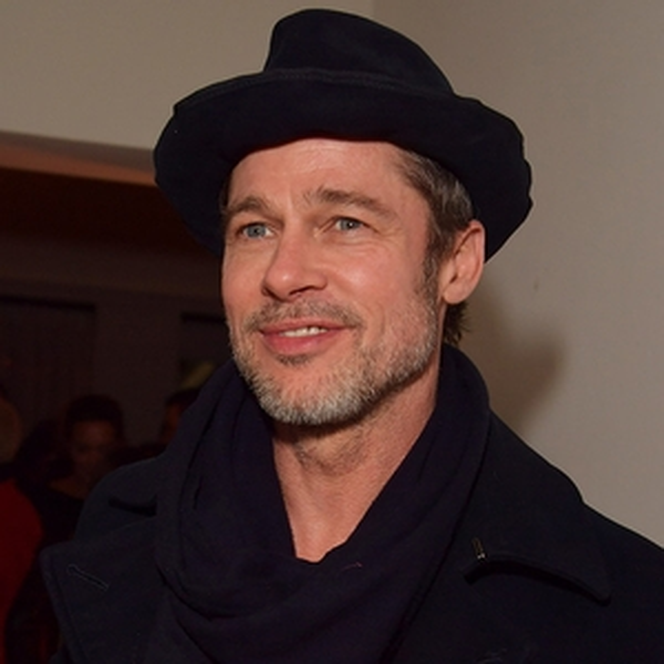 Brad Pitt, Pre-2018 Oscars Party, Gersh Agency