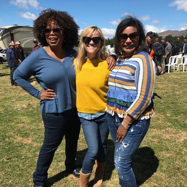 Oprah Winfrey, Mindy Kaling, Reese Witherspoon, Instagram