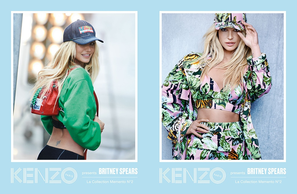 Britney Spears Unveiled as the New Face of Kenzo