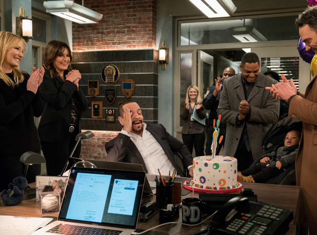 Law And Order: SVU Sneak Peek: Fin Gets A Birthday Surprise–His Grandson!