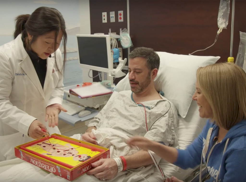 Jimmy Kimmel Gets His First Colonoscopy With A Little Help From Katie Couric