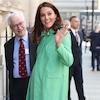A Splash of Spring! All the Details on Kate Middleton's Bespoke Jenny Packham Coat