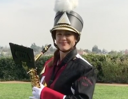 Jennifer Garner Embraces Her Inner Band Geek for Reese Witherspoon's Birthday