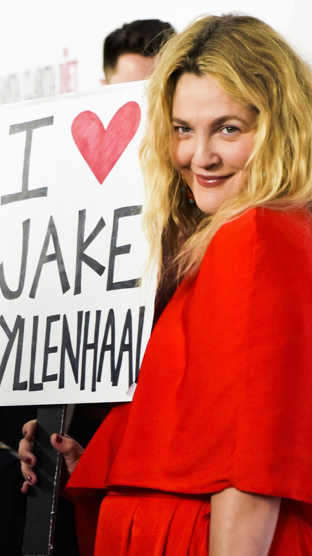 """Drew Barrymore To """"Least Talented Co-Star"""" Jake Gyllenhaal: No Hard Feelings!"""