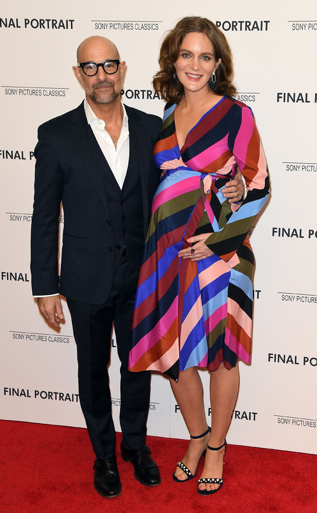Stanley Tucci's Wife Felicity Blunt Is Pregnant With Baby No. 2