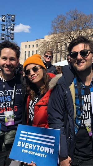 Parks and Recreation, Reunion, March for Our Lives 2018