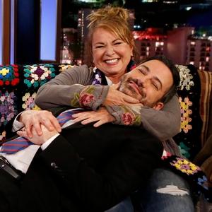 Roseanne Barr, Jimmy Kimmel