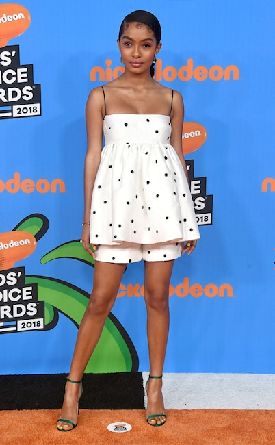 Yara Shahidi, Nickelodeon Kids Choice Awards 2018