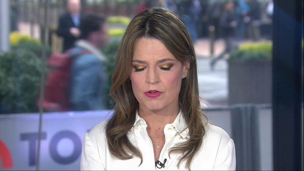 Savannah Guthrie Apologizes After Saying 'Oh, S-' on Wednesday's 'Today'